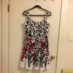Fit and flair summer dress